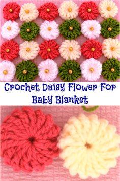 floare de daisy pentru pătură pentru copii