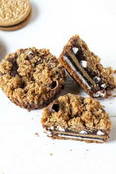 S'mores Oreo Cookie Cups! Is your mouth watering yet?