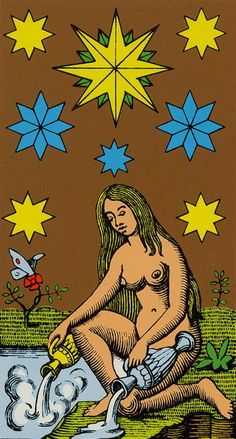 The Star - Oswald Wirth Tarot