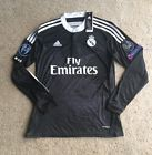 For Sale - Adidas Real Madrid Ronaldo Long Sleeve Champions League 3rd Black Jersey #7 (M)  - See More at http://sprtz.us/MadridEBay
