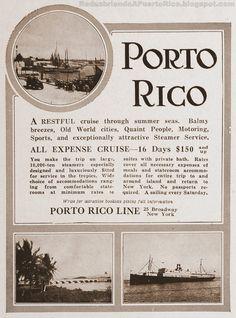 De crucero por el Caribe a principios del siglo 20 | Redescubriendo a Puerto Rico
