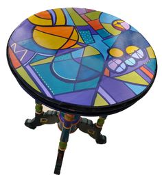 painted table                                                       …