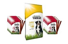 Cibo bio per cani + 30 chewing sticks Yarrah con sconto del 11% e spedizione gratuita!  #yarrah #biologico #sconto #offerta #cane