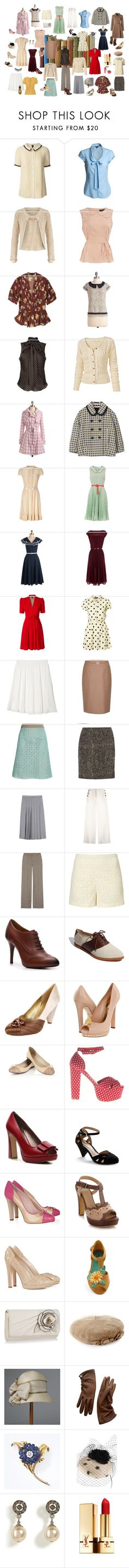 """Nancy Drew Chic"" by nancey-bridston-hocking ❤ liked on Polyvore featuring Reception, Orla Kiely, Dorothy Perkins, Tory Burch, Karen Walker, Knitted Dove, Lauren Ralph Lauren, Fat Face, Marni and Collette By Collette Dinnigan"
