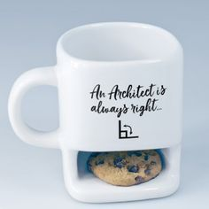 Personalised Cookie Mug - Architect Always Right…