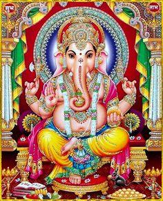 ' Hinduism for Everyone Shri Ganesh, Ganesh Lord, Ganesha Art, Jai Hanuman, Ganesh Tattoo, Krishna Radha, Lord Shiva, Shiva Art, Shiva Shakti