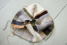 sandra juto. What to do with all the leftover yarn!