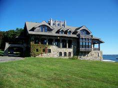 Aldrich Mansion Boathouse, Warwick, RI         #VisitRhodeIsland