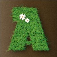 Quick Tip: How to Create a Vector Grass Text Effect