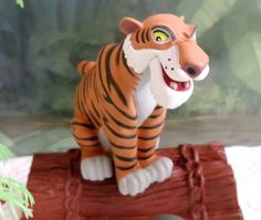 Amazon.com: Jungle Book 17 Piece Birthday Cake Topper Set Featuring Mowgli, Baloo, Bagheera, King Louie, Shere Khan, Kaa and Themed Decorative Accessories - Cake Topper Includes All Items Shown: Toys & Games