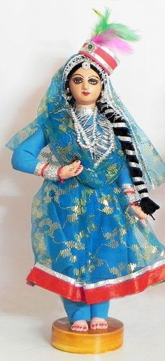 Dance of India Doll