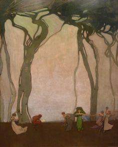 ► Sydney Long ~ Art Nouveau and Symbolist painter