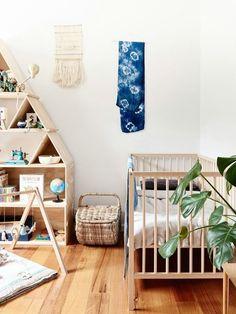 Neutral nursery / Gemma Patford Legge and Duncan Legge - The Design Files Baby Bedroom, Nursery Room, Girl Nursery, Kids Bedroom, Nursery Decor, Nursery Ideas, Boho Nursery, Nursery Themes, Boy Room