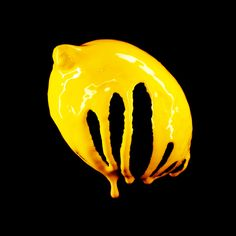 Lemon Food art Colour Images, Superhero Logos, Black Backgrounds, Food Art, Still Life, The Darkest, Vibrant Colors, Artsy, Gallery