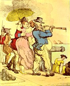 Thomas Rowlandson - Stolen Kisses