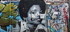 La scena Street art a Berlino nacque nel periodo della costruzione del muro, e si è estesa fino a diventare una corrente artistica molto in voga.