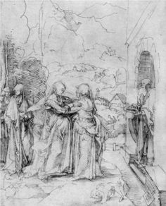 Visitation - Albrecht Durer