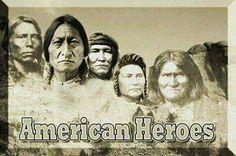 I love All Life : Photo Native AMerican Heros .