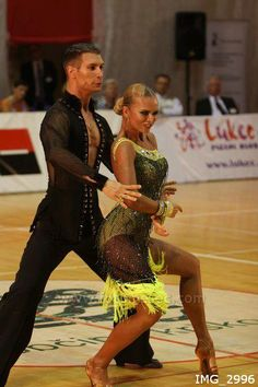 A great tan looks great on the floor. Bodies look more toned, and the feel of the Latin American or Rhythm costume feels more complete.