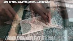How to make an Apple carving leather case! #handmadeleather #leathercarving #watch #carvingleather #handmade #leather #diy #madeinvietnam #wallet #madebyhand #virgohandmadeleather #virgohandmade #hanoi #thucong #handicraft #caseleather #handmadeleatherinhanoi #tooled #case #iphone #life #caseleather #iphonecase #iphone8 #iphoneX #colour