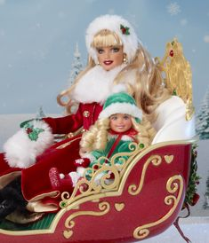 Charitybuzz: Dashing Through the Snow Sisters Sleigh Set - Lot 331805