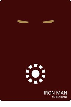 Iron Man | THE 30 BEST FILM POSTERS MINIMALIST CULTS