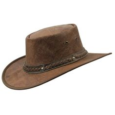 Barmah Hats Crackle Kangaroo Leather Hat 1018CR / 1018HC - Hickory Crackle - Small Barmah Hats http://www.amazon.com/dp/B006PU8NIA/ref=cm_sw_r_pi_dp_Nxinub1RT97RB