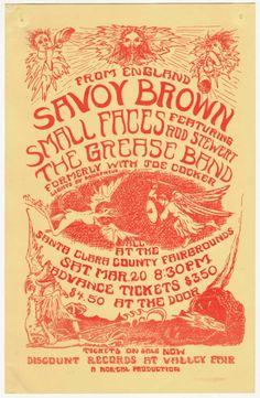 Savoy Brown, Small Faces, Grease Band