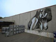 Barcelona 2011 MTN factory mural - Impressive Street Art by El Mac <3 <3