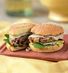 Mediterranean Tuna Burgers With Lemon-Basil Mayonnaise