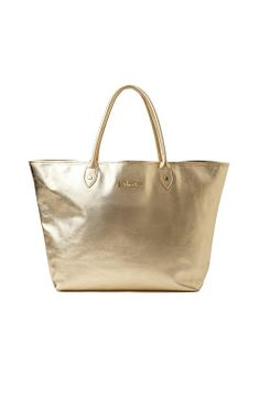 La La Leather Tote This would be PERFECT for me to also keep a few of the kiddie items in so I'm not carrying around a diaper bag, too!!!