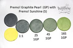 Graphite Pearl and Sunshine