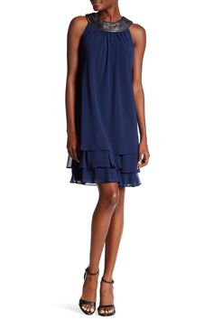 Tiered Halter Dress by SL Fashions on @HauteLook