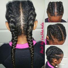 Pigtails For Black Girls