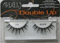 Ardell Double Up 206 False Eyelashes, Black * Continue to the beauty product at the image link.