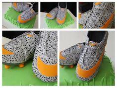 narodeninová pre futbalistu 4 kg torta, orechová plnka