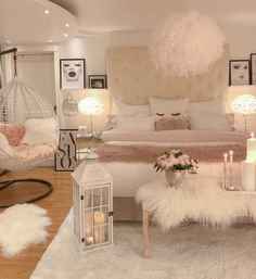 75 Young Girl Bedroom Designs - Inspiration and Ideas for Your Dream Bedroom - dougryanhomes Teen Bedroom Designs, Room Ideas Bedroom, Small Room Bedroom, Dream Bedroom, Small Girls Bedrooms, Gold Bedroom Decor, Teenage Girl Bedrooms, Queen Bedroom, Bedroom Furniture