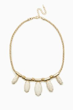 ShopSosie Style : Stone Cold Necklace - $21.00