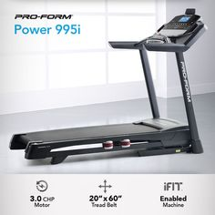 Getting fit is an exciting process. Each workout brings the confidence of knowing you're getting healthier every day. The Power 995i is where the miles begin. #running #fitness
