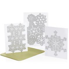 Anna Griffin® Cuttlebug™ Cut & Emboss Dies - Snowflake