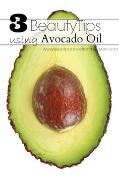 3 Beauty Tips using Avocado Oil for Hair and Skin Thrifty and Natural. Avocado oil is so healthy for our skin!