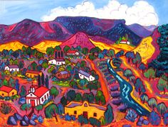 Barbara Gurwitz, Paintings at Wilde Meyer Gallery in Scottsdale and Tucson. View from the West