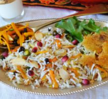 Recette - Riz-cocotte à l'orange et au safran - Proposée par 750 grammes