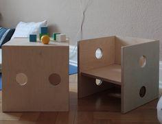 Stühle - Kinderstuhl - Modell 1 - ein Designerstück von weluschu bei DaWanda