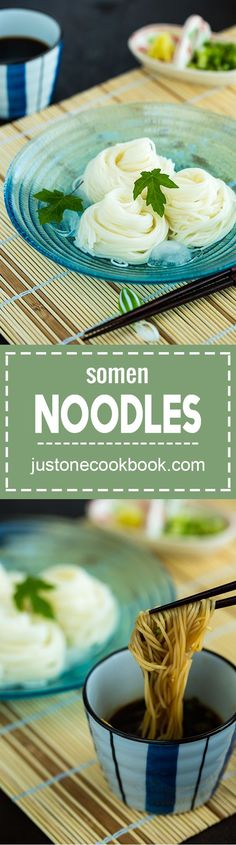 somen somen noodles そうめん easy japanese recipes at http ...