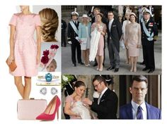 """""""Attending the christening of Princess Estelle of Sweden"""" by dana-avots ❤ liked on Polyvore featuring Monsoon and IBB"""