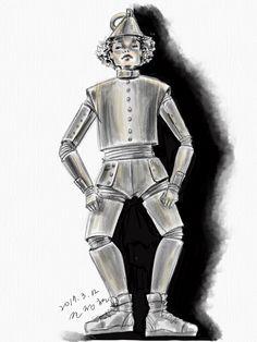 costume drawing-오즈의 마법사-깡토ㅇ