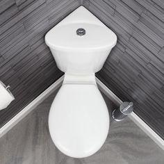 Ceramica Forli Space Saving Corner Toilet