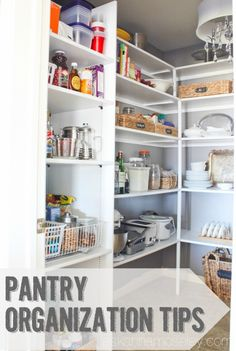 Tips to organize your pantry! #HomeGoodsHappy