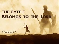 The battle belongs to the Lord ~~I Love Jesus Christ Christian Quotes. Bible Scriptures, Bible Quotes, Faith Quotes, 1 Samuel 17, 5 Solas, Christian Warrior, Armor Of God, Favorite Bible Verses, Spiritual Warfare